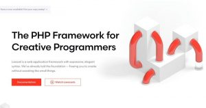 What is Laravel?  Discover the most used PHP framework