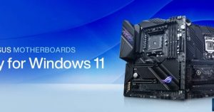 Asus Updates Windows 11 Compatible Motherboards